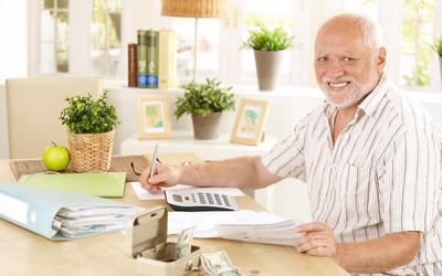 Пенсии в реальном выражении снижаются уже полгода