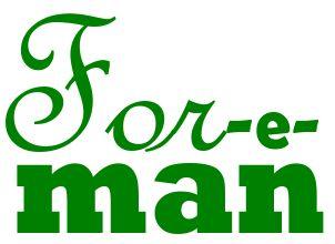 Форман